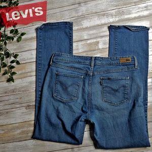 Levis classic straight leg jeans size 12
